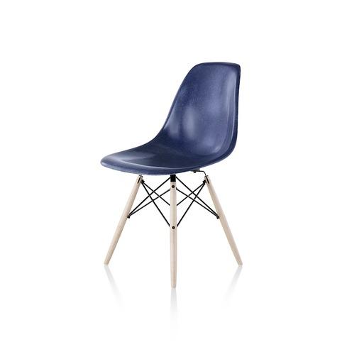 【ハーマンミラー正規販売店】イームズファイバーグラスサイドチェア ダウェルベース DFSW Eames Molded Fiberglass Side Chair