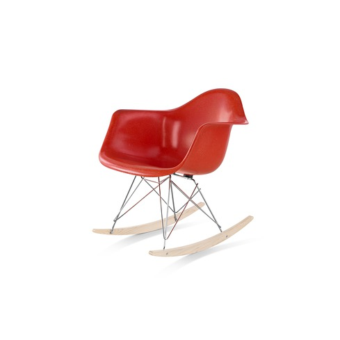【ハーマンミラー正規販売店】イームズファイバーグラスアームチェア ロッカーベース RFAR Eames Molded Fiberglass Arm Chair