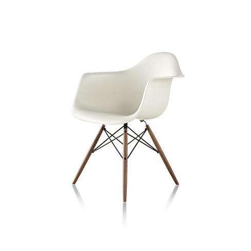 【ハーマンミラー正規販売店】イームズプラスチックアームチェア ダウェルベース Eames Molded Plastic Arm Chair