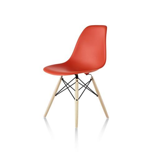 【ハーマンミラー正規販売店】イームズプラスチックサイドチェア ダウェルベース Eames Molded Plastic Side Chair