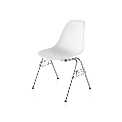 【ハーマンミラー正規販売店】イームズプラスチックサイドチェア スタッキングベース Eames Molded Plastic Side Chair
