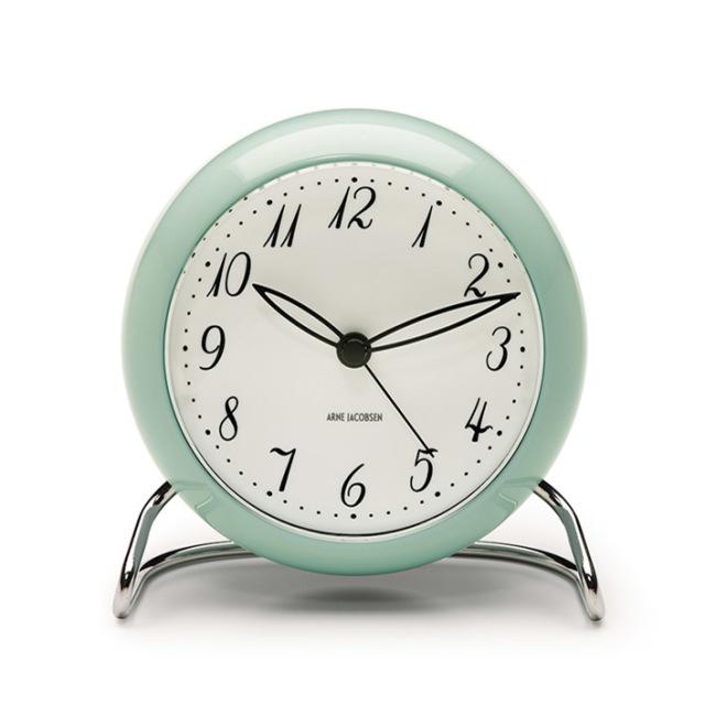 【ROSENDAHL】AJテーブルクロック 限定色アイスブルー アルネ・ヤコブセン AJ Table Clock