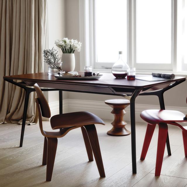 【ハーマンミラー正規品】 カラフテーブル チェリーウッド/ブロンズベース Carafe Table 在庫品