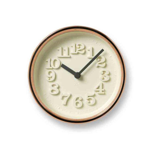 Lemnos レムノス 小さな時計 純銅仕様 渡辺力