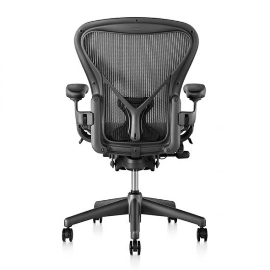 【販売終了予定】Classic Aeron Chair クラシックアーロンチェア ポスチャーフィット フル装備 グラファイトベース