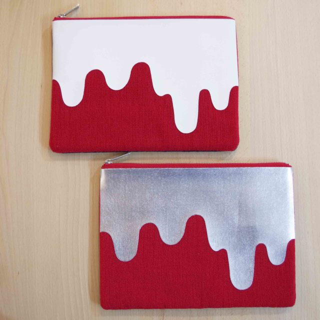 【desertic × Knoll】Liquid Print Poach -Knoll Textiles- Lサイズ