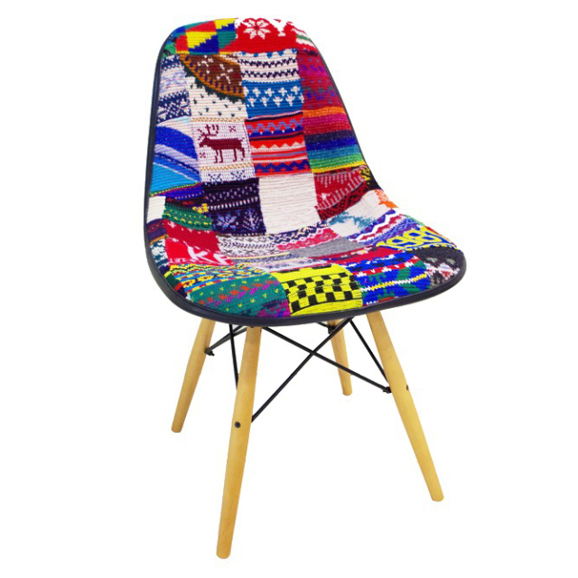 【desertic×case study shop】Knit Side Chair ニットサイドチェア