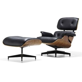 【Herman Miller正規販売店】イームズラウンジチェア&オットマン ウォールナット 特別セット Eames Lounge Chair