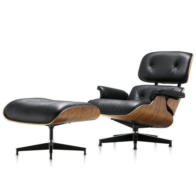 【在庫あり】【Herman Miller正規販売店】イームズラウンジチェア&オットマン ウォールナット 特別セット Eames Lounge Chair