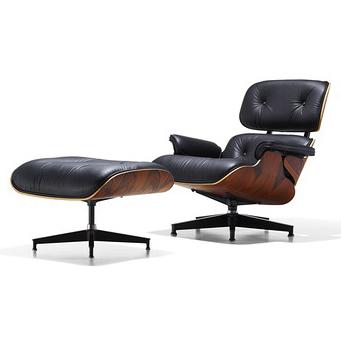 【Herman Miller正規販売店】 イームズラウンジチェア&オットマン サントスパリサンダー 特別セット Eames Lounge Chair   Santos Palisander