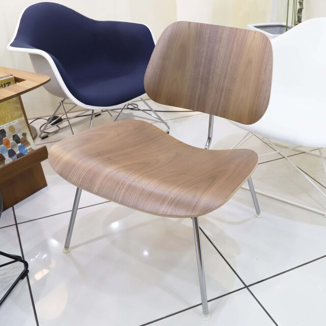 LCM イームズプライウッドチェア Eames Plywood Chair ウォールナット/クロームベース 撮影品