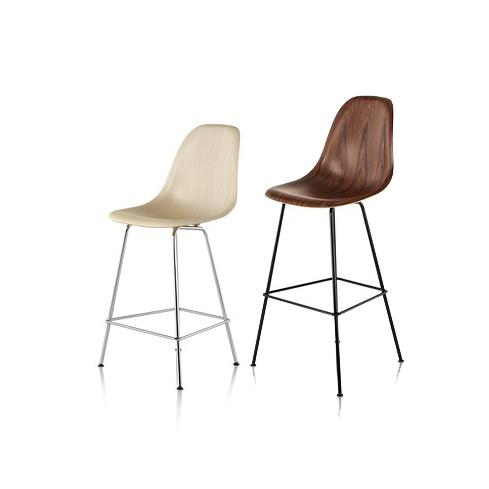 Herman Miller ハーマンミラー Eames Molded Wood Chairs イームズウッドシェルチェア スツール
