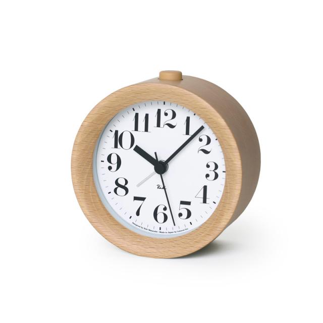 【Lemnos】RIKI ALARM CLOCK リキアラームクロック 渡辺 力