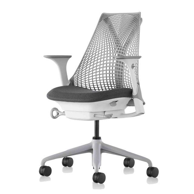 【ハーマンミラー正規販売店】セイルチェア Sayl Chair 別注仕様 スレートグレー&グラナイト