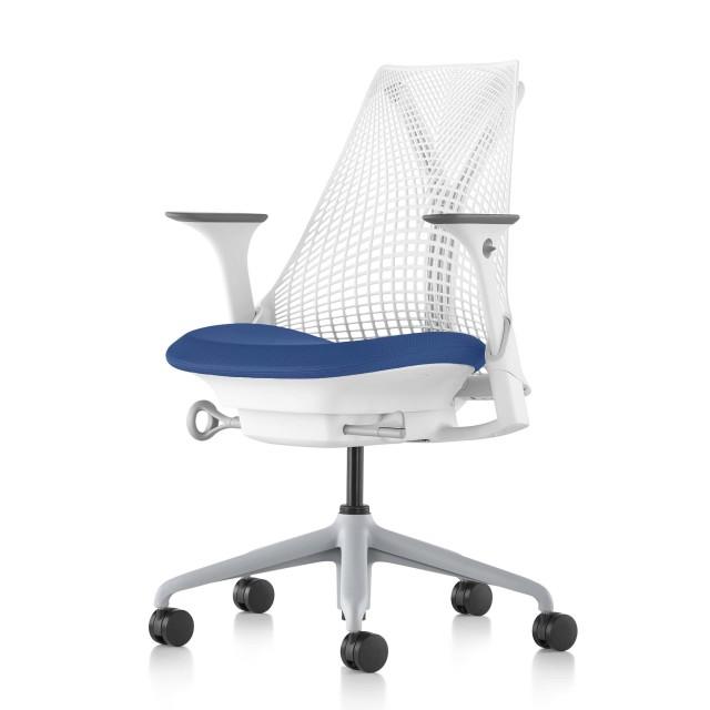 【在庫あり】【ハーマンミラー正規販売店】セイルチェア Sayl Chair 別注仕様 ホワイト&プール