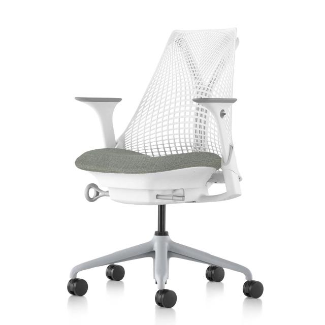【BB/C7ともに在庫あり】【ハーマンミラー正規販売店】セイルチェア Sayl Chair 新在庫仕様 ホワイト&フェザーグレー