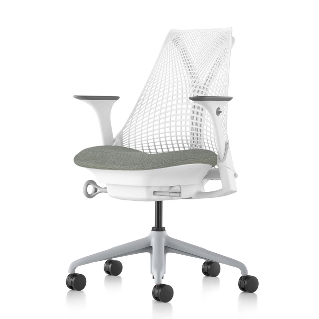 【在庫あり/C7キャスター仕様追加】【ハーマンミラー正規販売店】セイルチェア Sayl Chair 新在庫仕様 ホワイト&フェザーグレー