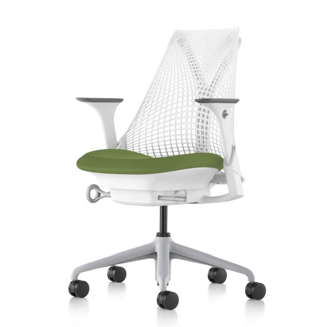 【ハーマンミラー正規販売店】セイルチェア Sayl Chair 別注仕様 ホワイト&アボガド