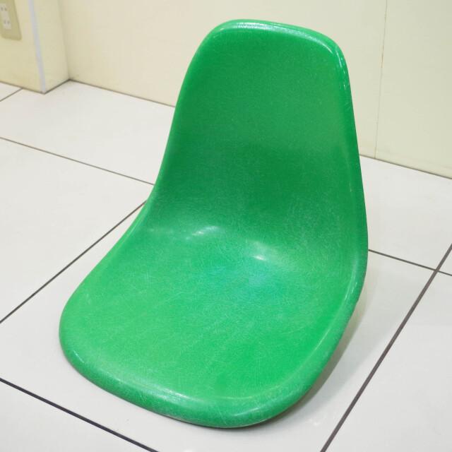 ハーマンミラー社製ヴィンテージイームズサイドシェル カドミウムグリーン