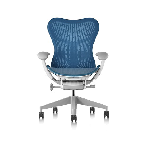 【展示品特別価格】Mirra2 Chair ミラ2チェア バタフライサスペンション&ラティテュードファブリック ダークターコイズ フォグベース