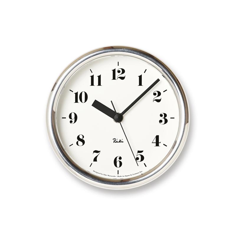【Lemnos/レムノス】リキアルミニウムクロック RIKI ALUMINUM CLOCK 渡辺力