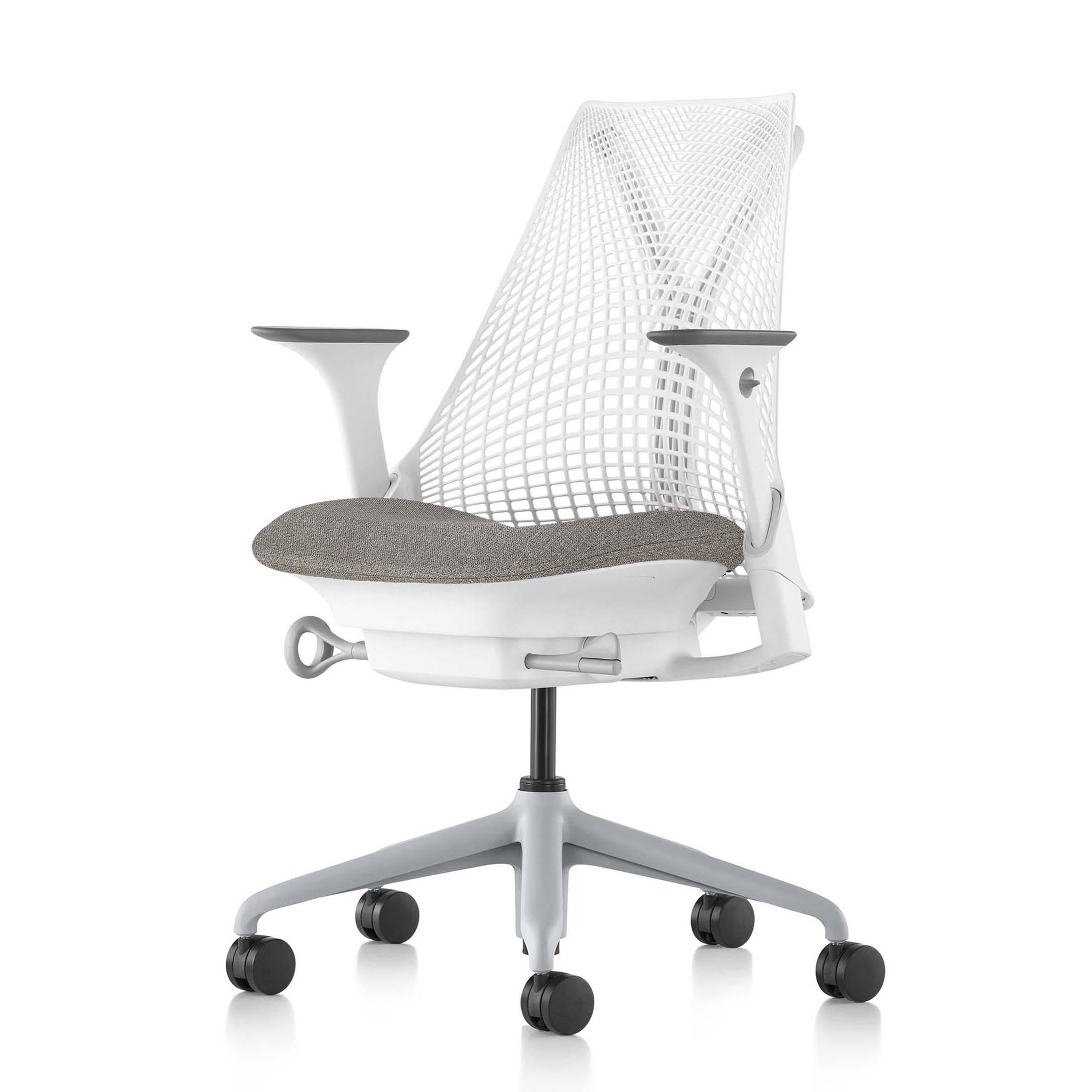 【ハーマンミラー正規販売店】セイルチェア Sayl Chair 別注仕様 ホワイト&フェザーグレー