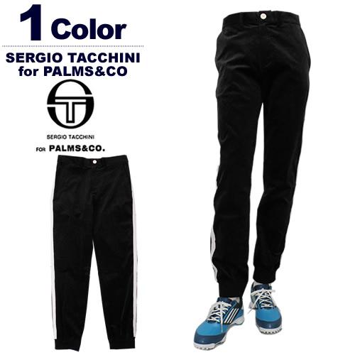 【SALE 20%OFF】SERGIO TACCHINI for PALMS&CO.[セルジオタッキーニパームスアンドコー]サイドライン裾リブパンツ GHIBLI Combi Side Line Pants【2017年秋冬】