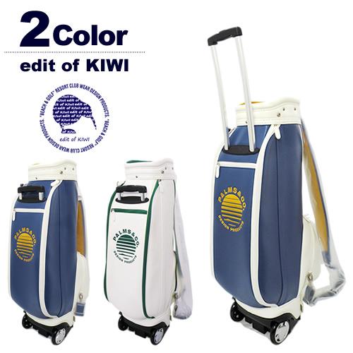 edit of KIWI[エディットオブキウィ]キャスター付きキャディバッグ KIWI Wheel Move Cart Bag