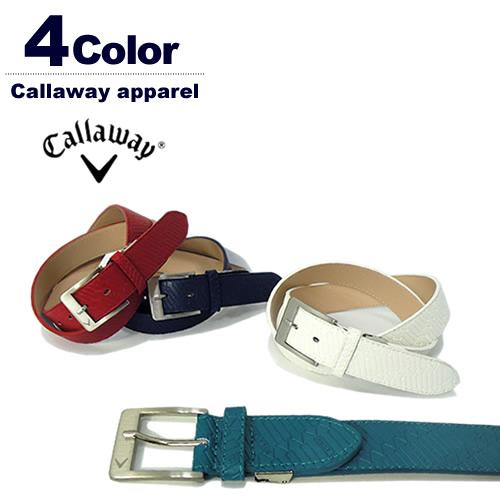【SALE 20%OFF】Callaway apparel[キャロウェイアパレル]アローエンボスフェイクレザーベルト【2017年秋冬】