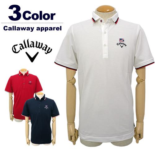 【SALE 50%OFF】Callaway apparel[キャロウェイアパレル]ハイブリッドマジック鹿の子ポロシャツ【2017年秋冬】