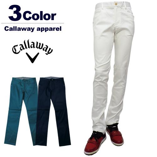 【SALE 30%OFF】Callaway apparel[キャロウェイアパレル]ストレッチピケテーパードパンツ【2017年秋冬】