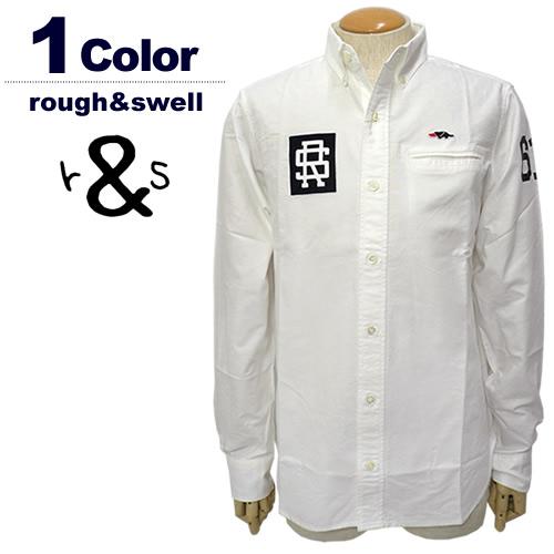 rough&swell[ラフアンドスウェル]RS College B.D/オックスフォードボタンダウンシャツ【2017年秋冬】