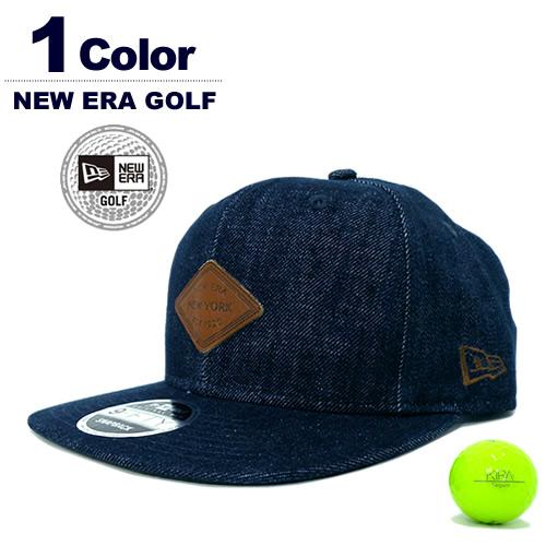 NEW ERA GOLF[ニューエラゴルフ]9FIFTY Original Fit Denim / デニムキャップ【2017年秋冬】