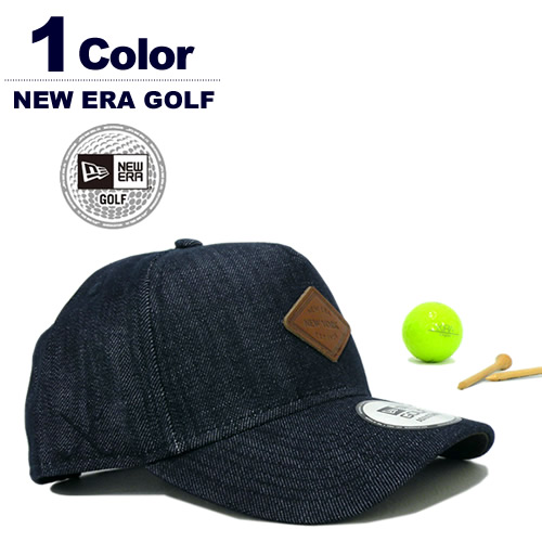 NEW ERA GOLF[ニューエラゴルフ]9FORTY A-Frame Denim / デニムキャップ【2017年秋冬】