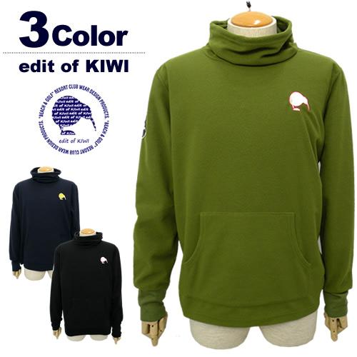 edit of KIWI[エディットオブキウィ]蓄熱保温フリースオフタートル/Thermo Fleece Off Turtle【2017年秋冬】