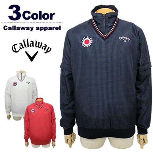 【SALE 30%OFF】Callaway apparel[キャロウェイアパレル]4WAY中綿スニードジャック【2017年秋冬】