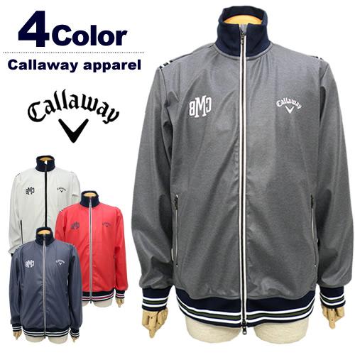 Callaway apparel[キャロウェイアパレル]ラミネーションスウェットブルゾン【2017年秋冬】