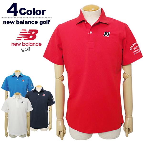 new balance golf[ニューバランスゴルフ]COOLMAX鹿の子ポロシャツ【2018年春夏】