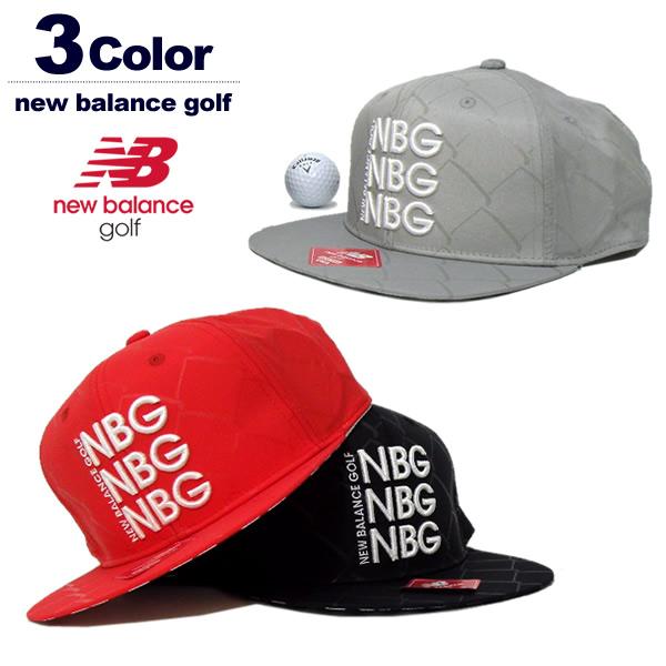 new balance golf(ニューバランスゴルフ)キャップ