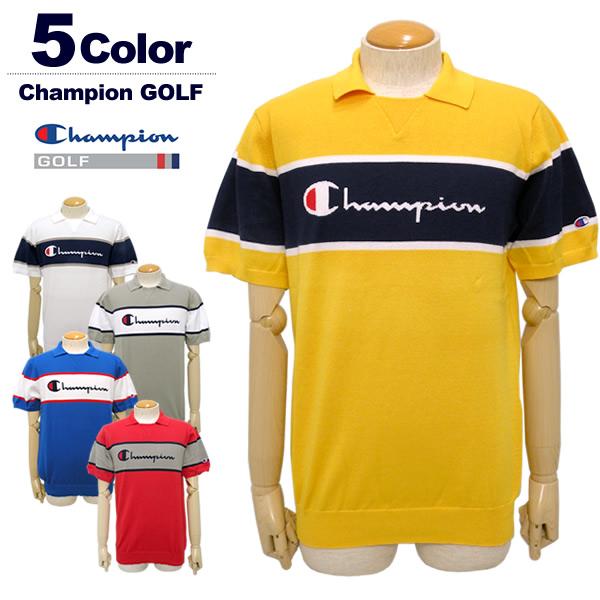 Champion GOLF(チャンピオンゴルフ)ポロシャツ