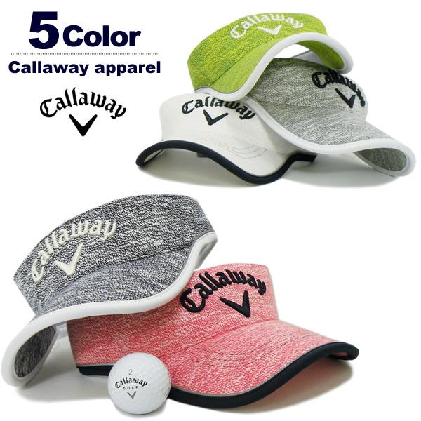 Callaway apparel(キャロウェイアパレル)サンバイザー