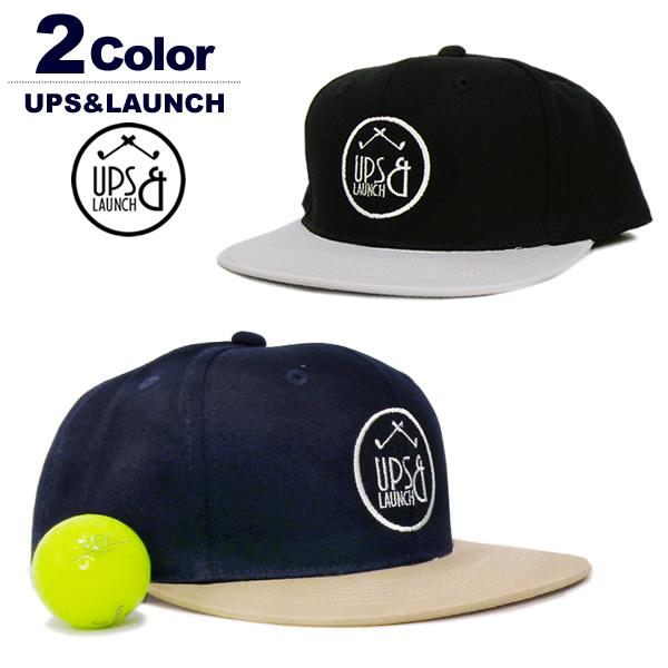 UPS&LAUNCH(アップスアンドランチ)キャップ
