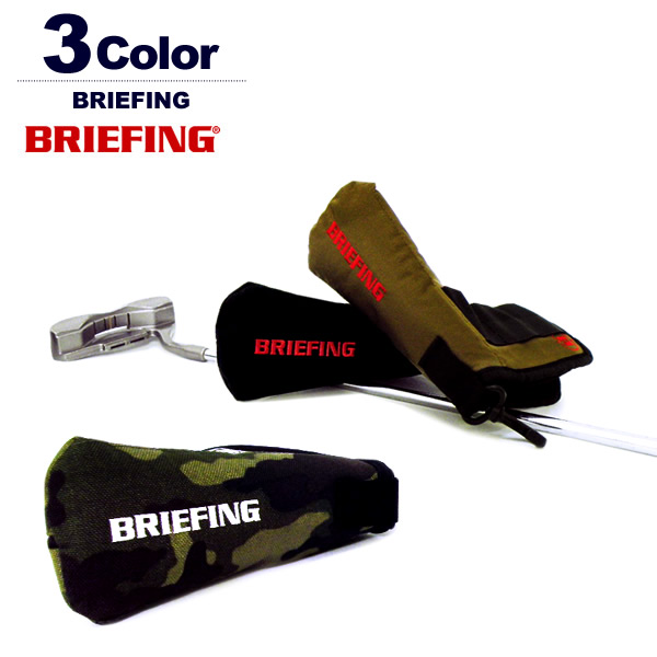 BRIEFING GOLF[ブリーフィングゴルフ]B SERIES PUTTER COVER / パターカバー【2018年】