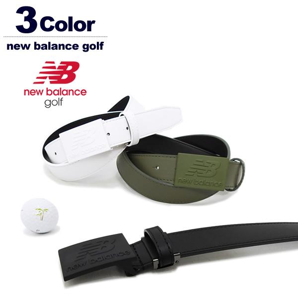 new balance golf[ニューバランスゴルフ]ロゴバックルスムースレザーベルト【2018年秋冬】