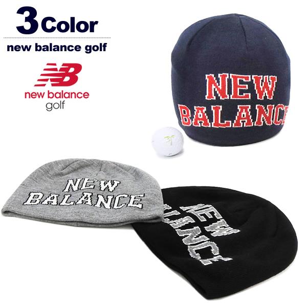 new balance golf(ニューバランスゴルフ)ニットキャップ