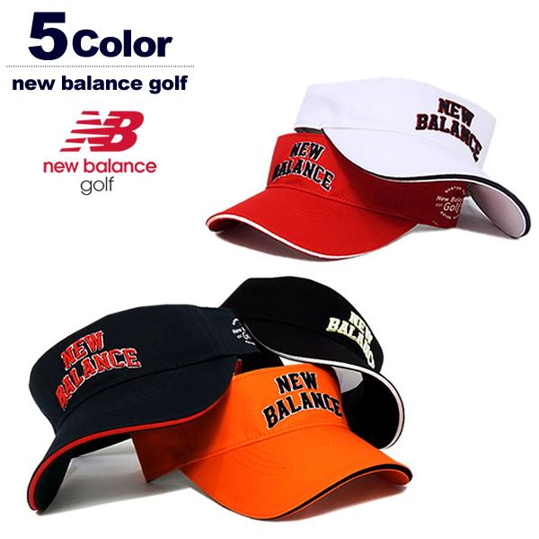 new balance golf(ニューバランスゴルフ)サンバイザー