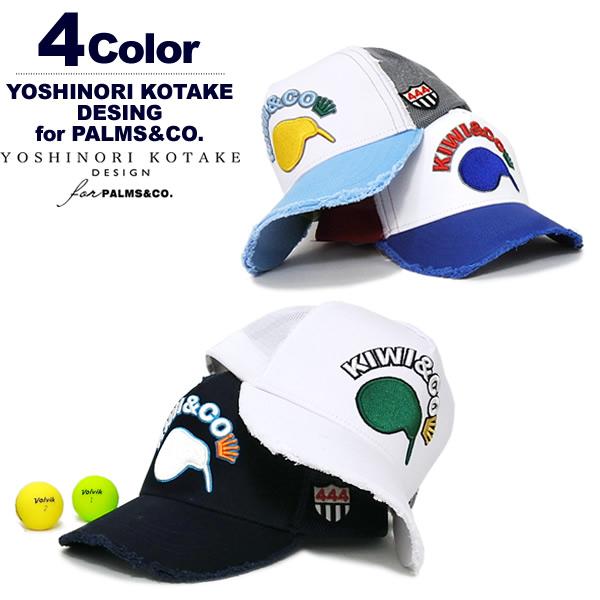 YOSHINORI KOTAKE DESIGN for PALMS&CO. (ヨシノリコタケパームスアンドコー)キャップ