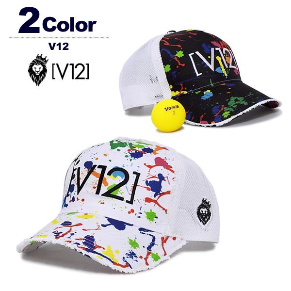 V12(ヴィ・トゥエルブ)キャップ