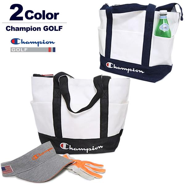 チャンピオン ゴルフ トートバッグ メンズ レディース キャンバス生地 大容量 ChampionGOLF C3-PG701B 2019春夏