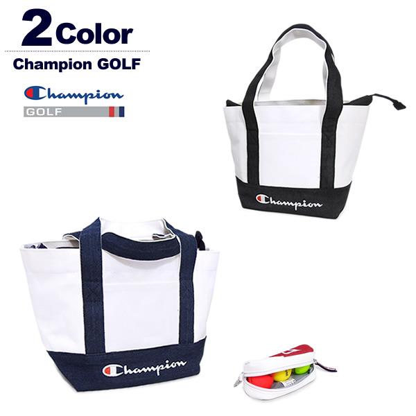 チャンピオン ゴルフ カートバッグ ミニトートバッグ メンズ レディース キャンバス生地 ChampionGOLF C3-PG702B 2019春夏